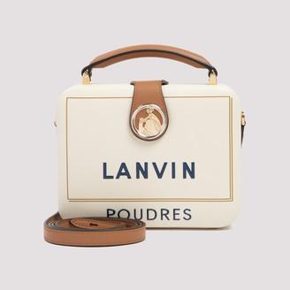 Lanvin Logo Top Handle Shoulder Bag