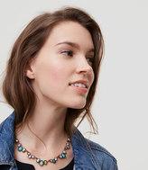 LOFT Wild Plains Stone & Crystal Necklace