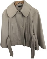 Tara Jarmon Beige Wool Coats