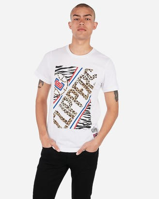 Express Los Angeles Clippers Nba Crew Neck Graphic T-Shirt