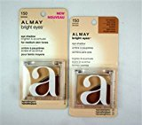 Almay Bright Eyes Eye Shadow For Medium Skin Tones, Bronze, 0.11-Ounce Compacts (Pack of 2) by