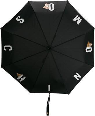 Moschino Lettered Logo Print Umbrella