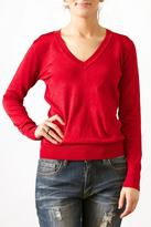 Wow Couture Luxe V-Neck Sweater