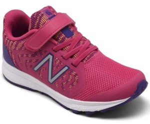 New Balance Little Girls 519v2 Stay-Put Closure Training Sneakers from Finish Line