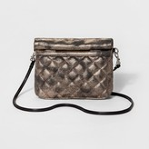 Mossimo Women's Metallic Pouch with Removable Crossbody Strap