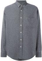 Ami Alexandre Mattiussi button down shirt - men - Viscose/Wool - 37