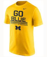 Nike Men's Michigan Wolverines Cotton Local Verbiage T-Shirt