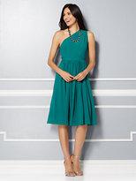 New York & Co. Eva Mendes Party Collection - Della One-Shoulder Chiffon Dress