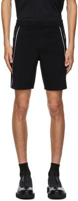 Neil Barrett Black Logo Sweat Shorts