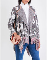 See by Chloe Fringed knitted cardigan
