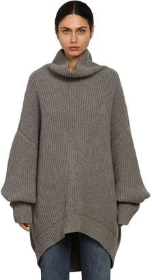 Givenchy Oversize Alpaca & Wool Knit Sweater