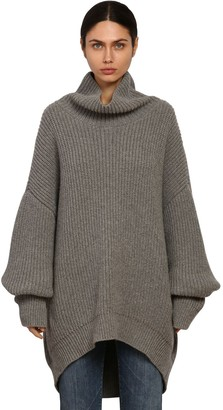 Givenchy Oversize Alpaca & Wool Knit Sweater