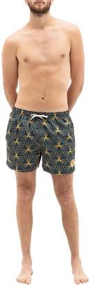 Ambsn Starburst Board Shorts