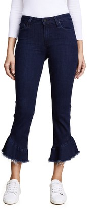 Paige Women's Flora Straight Jeans Pants