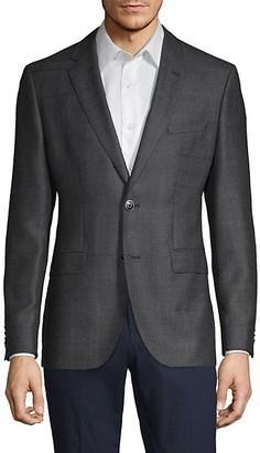 HUGO BOSS Standard-Fit Wool Sportcoat