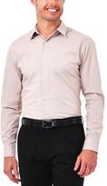 Haggar Windowpane Dress Shirt - Slim Fit, Point Collar