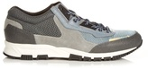 Lanvin Running Contrast-panelled Low-top Trainers