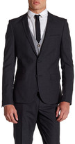 The Kooples Two Button Notch Lapel Wool Jacket