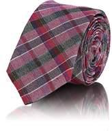 Alexander Olch Men's Plaid Wool Necktie