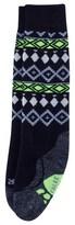 Falke Black Fairisle Socks