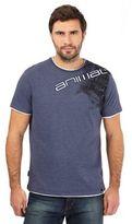 Animal Blue Logo Print T-shirt