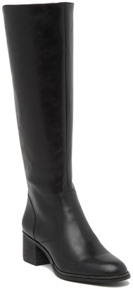 Franco Sarto Lauralei Leather Knee-High Boot
