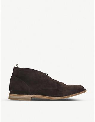 Officine Creative Staple leather chukka boots