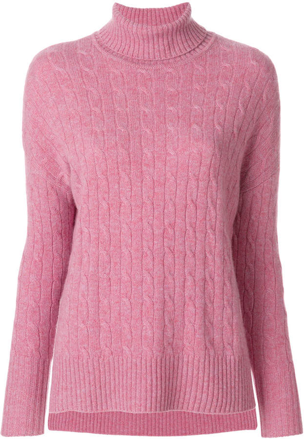 N.Peal oversize cable knit sweater