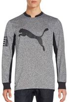 Puma Long Sleeve Crewneck Pullover