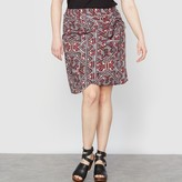 Taillissime Printed Wrapover Skirt