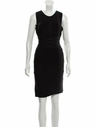 Herve Leger Mini Bandage Dress Black