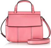 Tory Burch Block T Genuine Leather Mini Crossbody Bag
