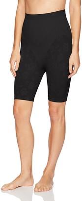 Joan Vass Women's Mid Waist Long Leg Slimmer