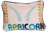 Jonathan Adler Capricorn Needlepoint Throw Pillow