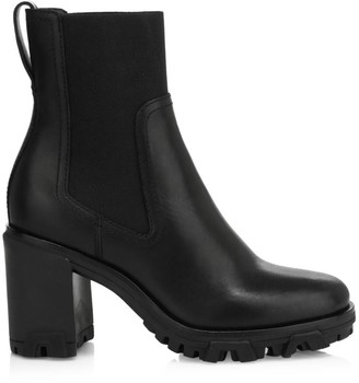 Rag & Bone Shiloh Leather Combat Boots