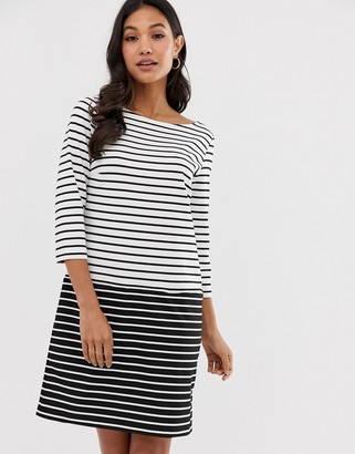 Vila stripe jersey dress-Multi