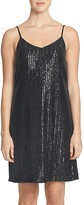 1 STATE 1.STATE Sequined Slip Dress