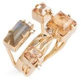 Alexis Bittar Women's Geo Crystal Ring