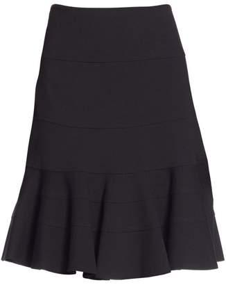 Akris Punto Elements Jersey Flippy Skirt