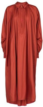 Roksanda Adela cotton poplin midi dress