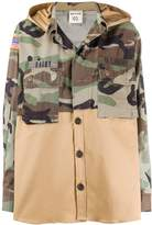 Semi-Couture Semicouture camouflage print cargo jacket