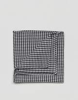 Asos Pocket Square In Dog Tooth
