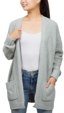Hippie Rose Juniors' Soft Chenille Cardigan