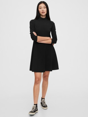 Gap Turtleneck Fit & Flare Dress