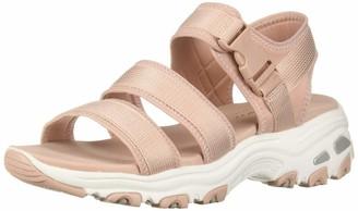 Skechers Women's D'Lites-Cargo Buckle Sport Sandal