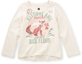 Tea Collection Ame Kitsune Graphic Tee (Toddler, Little Girls, & Big Girls)