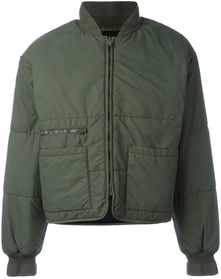 Yeezy Season 3 puffer bomber jacket