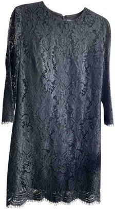 MSGM Black Lace Dress for Women