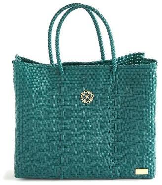 Lolas Bag Small Turquoise Tote Bag