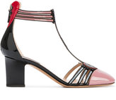 Valentino Garavani Valentino Love Blade pumps - women - Leather/Patent Leather - 36